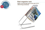 2010 gift of the year – highly commended – float magazine rack - j-me