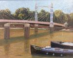 Prinz Albert Brücke, London - 30x24cm - Öl auf MDF €150,00