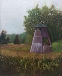 Gehlenbecker Torfmoor 24x30cm _ Öl auf MDF/Leinen €150,00