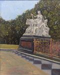 """Europa"" Prinz Albert Denkmal, Lonodon - 30x24cm - Öl auf MDF €150,00"