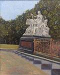 """Europa"" Prinz Albert Denkmal, Lonodon - 30x24cm - Öl auf MDF €190,00"