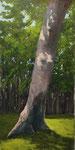 Der Waldkönig - 30x60cm - Öl auf Keilrahm/Baumwolle - Verkauft