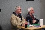 Chefkritiker vom Dienst: Alfred Antkowiak (l.) und Hennes Kos.