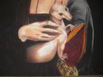 die dame mit dem hermelin, detail, lydia hitzfeld