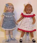 Puppenhauspuppen Gr. 11 cm