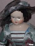 Biedermeierpuppe Lady Cordelia um 1890  Gr.38 cm