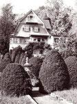 Buddhistisches Haus Georg Grimm. Aufnahme aus den 1980er-Jahren