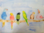 aquarelle de Thomas, 10 ans