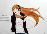 Manga de Jeanne, 136 ans et demi (aquarelle et feutres)