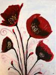 Fleurs de Eloïse, 12 ans et demi (acrylique sur toile)