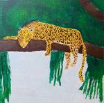 Acrylique sur toile de Nassim, 10 ans