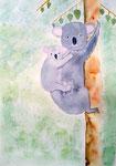 Koala de Chloé, 12 ans (aquarelle)