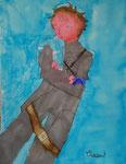 Dessin aux feutres, Clément 8,5 ans