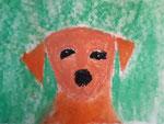 Chien de Aaron, 7,5 ans (pastel)