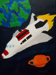 La fusée de Hugo, 8 ans