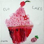 Cup Cake, acrylique de Manon 6 ans