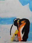 Acrylique sur toile de Gabriel, 7,5 ans