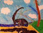 dessin de Benjamin, 6 ans et demi