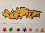 Graff de Clément,  6ans