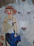 Crayons aquarellables, Julie, 16,5 ans