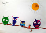 dessin aux feutres, Gabriela, 8 ans
