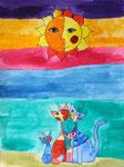 Vanina 11 ans (aquarelle sur papier)