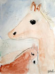 Aquarelle de Gabriela, 8 ans