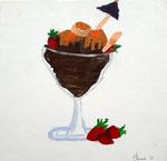 Coupe de glace de Clément B. 8 ans (acrylique)