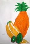 Fruits aux feutres, Aaron, 8 ans
