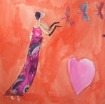 Agathe, 8 ans, aquarelle sur papier