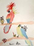 Aquarelle de Manon 8 ans