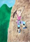 Pastel de Lucie D. 10,5 ans