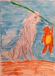 Loup au feutres de Benjamin