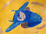 Nawfel, 6 ans (acrylique)