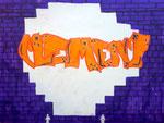 Graff de Clément 8 ans