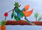 Colibri (acrylique sur toile)