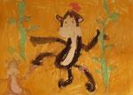 Pastel de Pauline, 6 ans