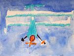 Avion de Nawfel, 6 ans et demi (acrylique)
