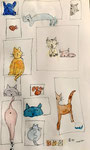 Aquarelle de Manon, 8 ans