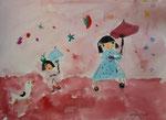aquarelle de Manon, 6 ans