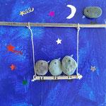 Techniques mixtes et collages, Lucie D. 10,5 ans