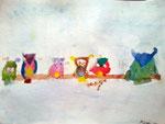 Aquarelle de Aaron, 6 ans et demi
