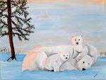 Acrylique sur toile de Laure 15 ans