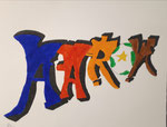 Graff de Aaron, 8 ans