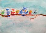 Aquarelle de Salma, 6 ans