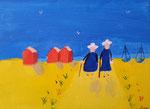 """""""Les bretonne, (acrylique sur toile)"""