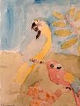 Aquarelle de Benjamin, 7,5 ans