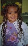 Tresses mi-longues (enfant*)   * Enfant : jusqu'à 5 ans