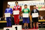 安田選手(国士大)を破り優勝した山本康稀(F.96kg級)