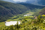 Lago do Ganna dal belvedere dell'Alpe Tedesco
